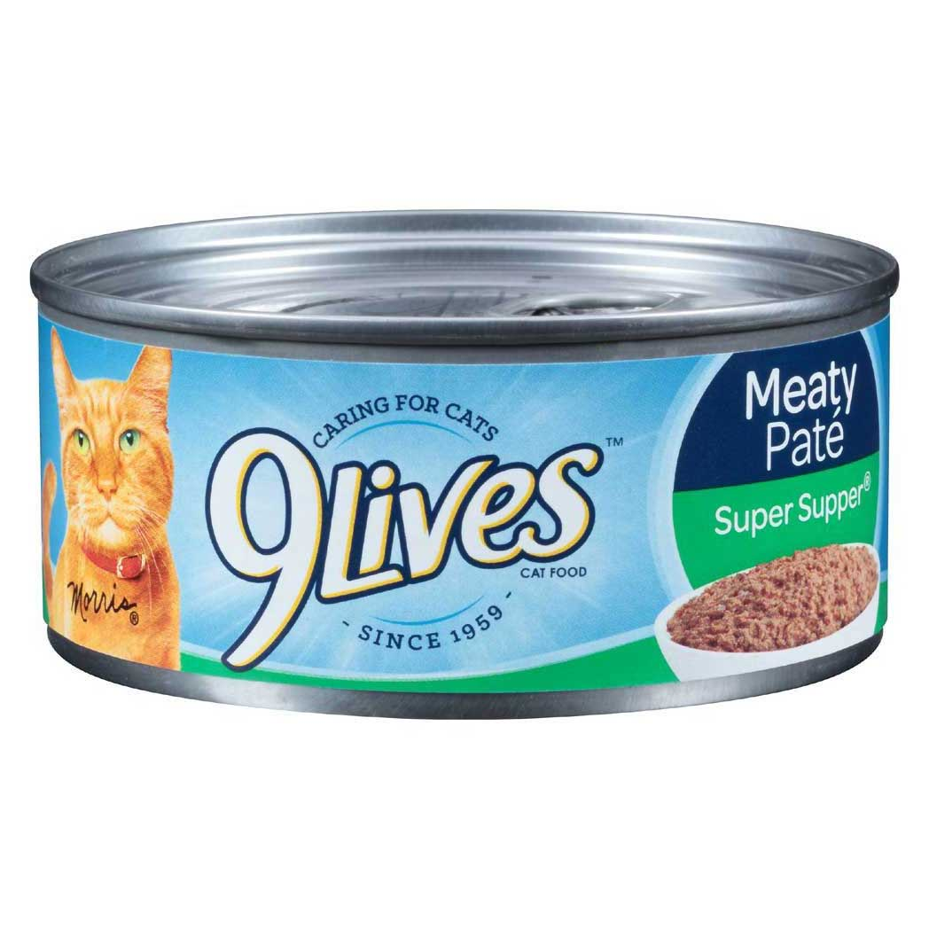 9 Lives Meaty Pate Super Supper Wet Cat Food