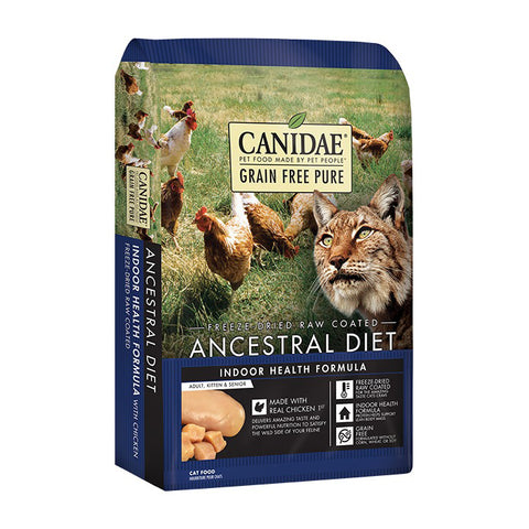Canidae PURE Ancestral Diet Indoor Health Formula with Chicken