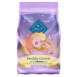 Blue Buffalo Healthy Growth Kitten Chicken Dry Cat Food