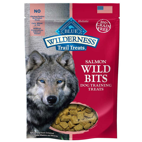 Blue Buffalo Wilderness Wild Bits Salmon Dog Treats