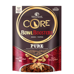 Wellness Core Bowl Boosters Pure Beef