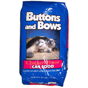Buttons and Bows Chicken Flavor Dry Cat Food