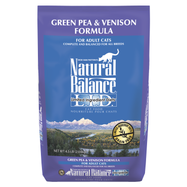 Natural Balance  LID Green Pea & Venison Dry Cat Food