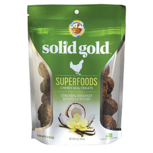Solid Gold Superfoods Chewy Treats Chicken, Coconut & Vanilla Recipe