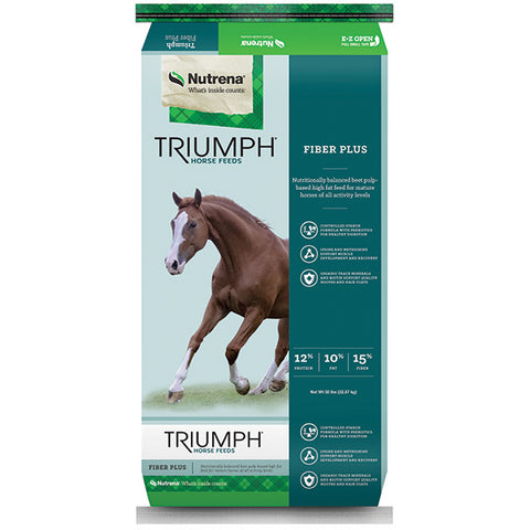 Triumph Fiber Plus Horse Feed