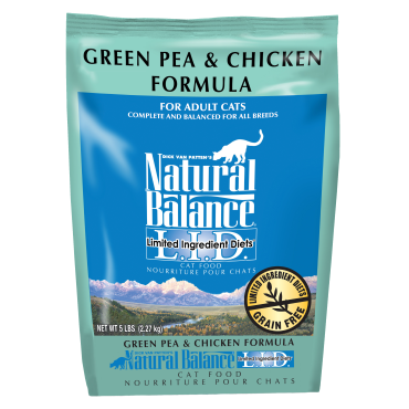 Natural Balance LID Green Pea & Chicken Dry Cat Food