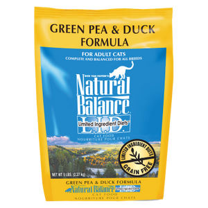 Natural Balance LID Green Pea & Duck Dry Cat Food