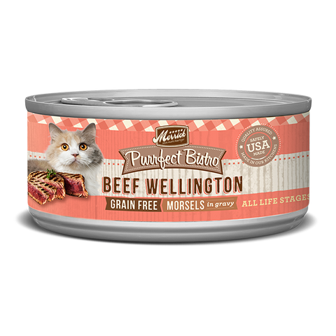 Merrick Purrfect Bistro Beef Wellington Wet Cat Food