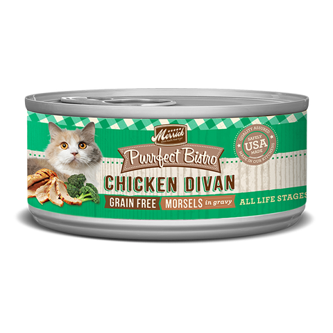 Merrick Purrfect Bistro Chicken Divan Wet Cat Food