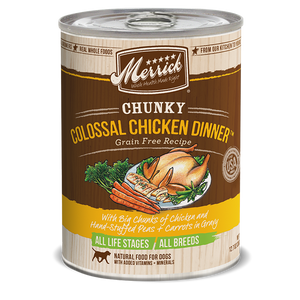 Merrick Chunky Colossal Chicken Dinner