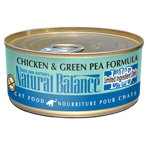 Natural Balance LID Chicken & Green Pea Wet Cat Food