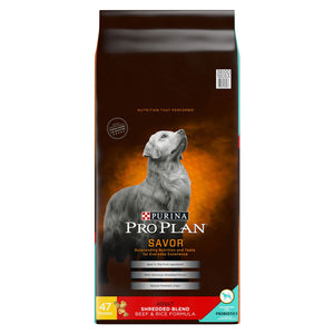 Pro Plan Savor Adult Beef & Rice Dry Dog Food