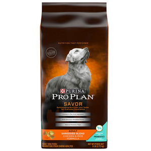 Pro Plan Savor Adult Chicken & Rice Dry Dog Food