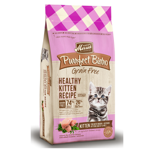 Merrick Purrfect Bistro Grain Free Healthy Kitten Recipe Dry Cat Food