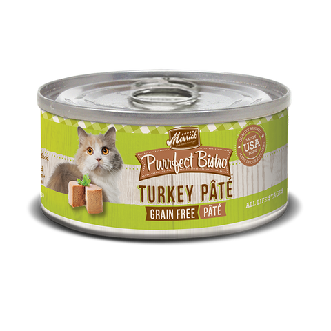 Merrick Purrfect Bistro Turkey Pate Wet Cat Food