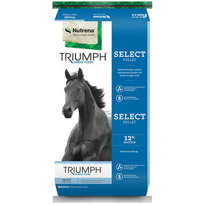 Nutrena Triumph Select 12% Pellet Horse Feed