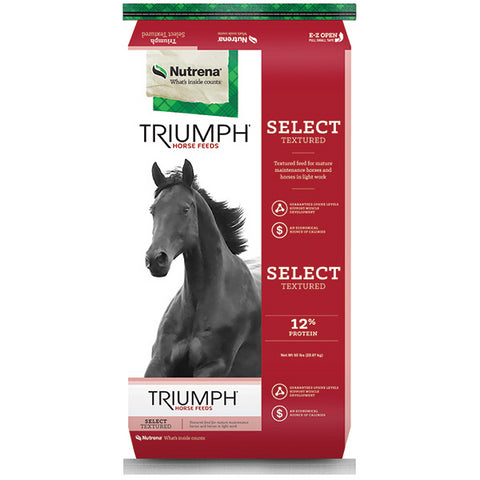 Nutrena Triumph Select 12% Textured Horse Feed