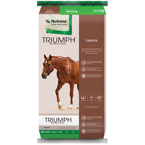 Triumph Senior Textured Horse Feed