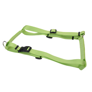 Coastal Adjustable Nylon Harness Small Lime