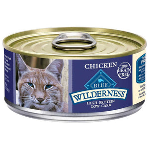 Blue Buffalo Cat Wilderness Chicken Wet Cat Food
