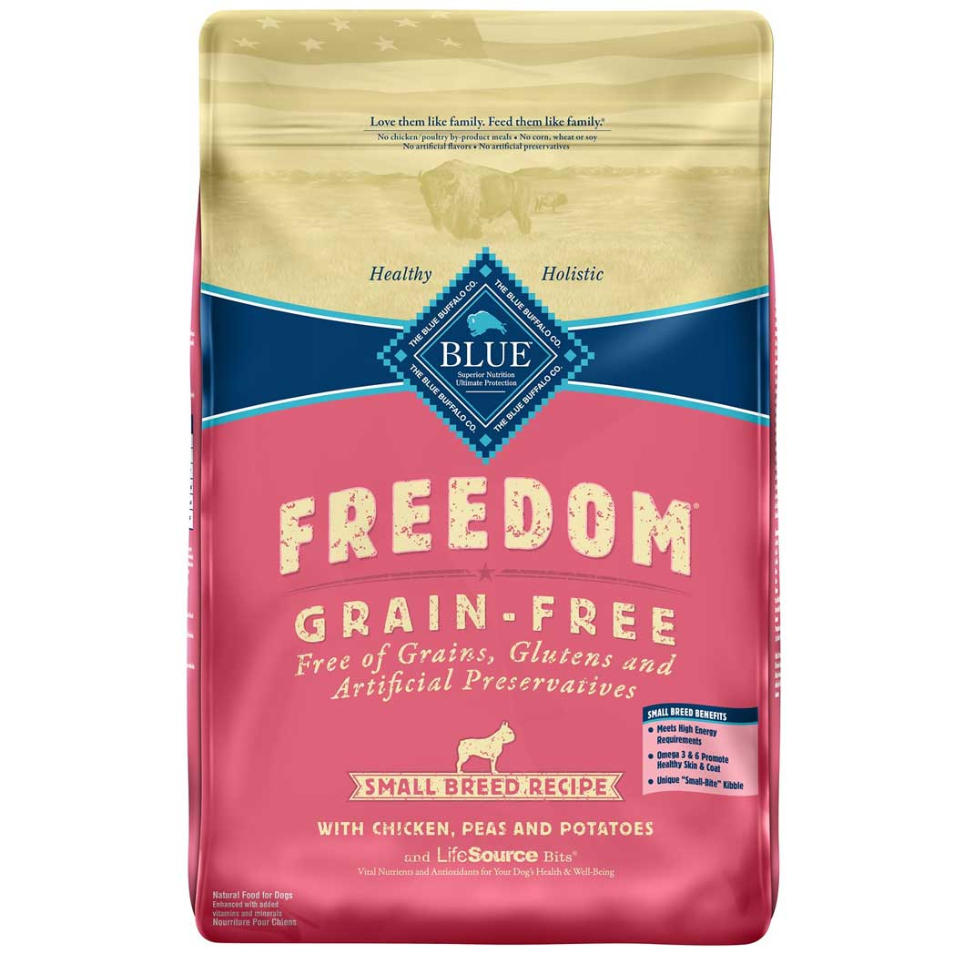Blue Buffalo Freedom Grain Free Small Breed Adult Chicken Dry Dog Food