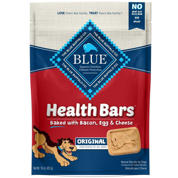 Blue Buffalo Health Bars, Choose Your Flavor, 1-lb pkg
