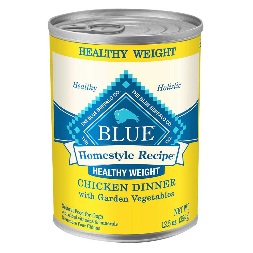 Blue Buffalo Homestyle Recipe Healthy Weight Chicken Wet Dog Food