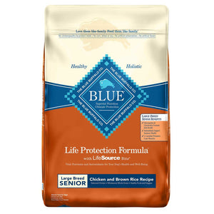 Blue Buffalo Senior Large Breed Dry Dog Food