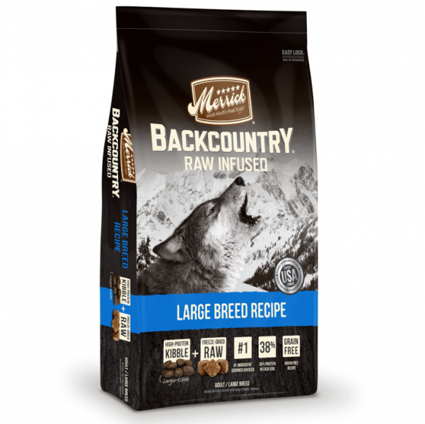 Merrick Backcountry Large Breed Recipe Dry Dog Food