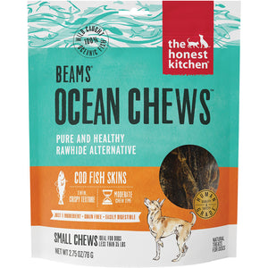 Honest Kitchen Beams Ocean Chews Cod Fish Skins