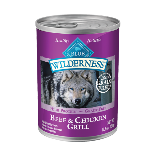 Blue Buffalo 12 pk Wilderness Beef & Chicken