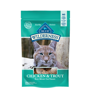 Blue Buffalo Wilderness Grain Free Chicken and Trout Cat Treats