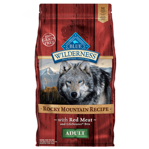 Blue Buffalo Wilderness Rocky Mountain Recipe Red Meat
