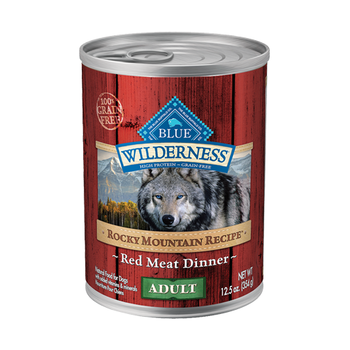 Blue Buffalo 12 pk Wilderness Rocky Mountain Recipe Red Meat