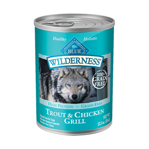 Blue Buffalo 12 pk Wilderness Trout & Chicken