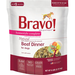 Bravo Freeze Dried Homestyle Complete Beef
