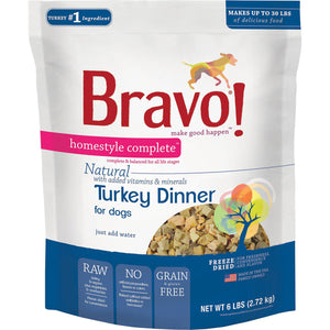 Bravo Freeze Dried Homestyle Complete Turkey