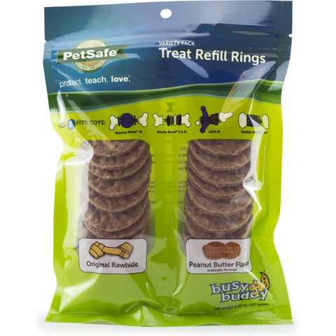 Premier Busy Buddy Rawhide Ring  Value Pack