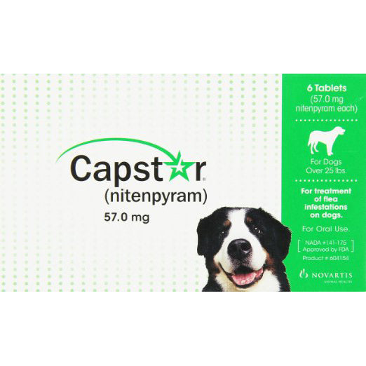 Capstar for Dogs 25+ lb.