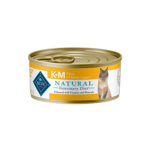 Blue Natural Veterinary Diet K+M Kidney + Mobility Support Wet Cat Food