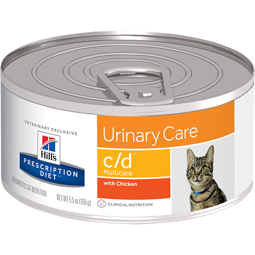 Hills Prescription Diet C/D Multicare Chicken Wet Cat Food