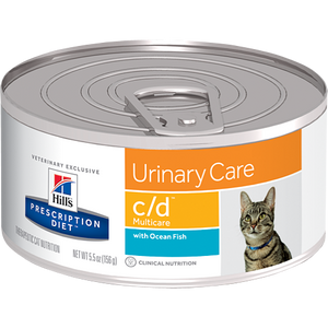 Hills Prescription Diet C/D Multicare Ocean Fish Wet Cat Food