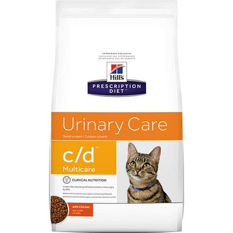 Hills Prescription Diet C/D Urinary Care Chicken Dry Cat Food
