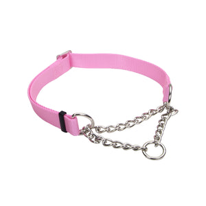 "Coastal Adjustable Check Choke Training Collar 3/8"" - 10"" Pink"