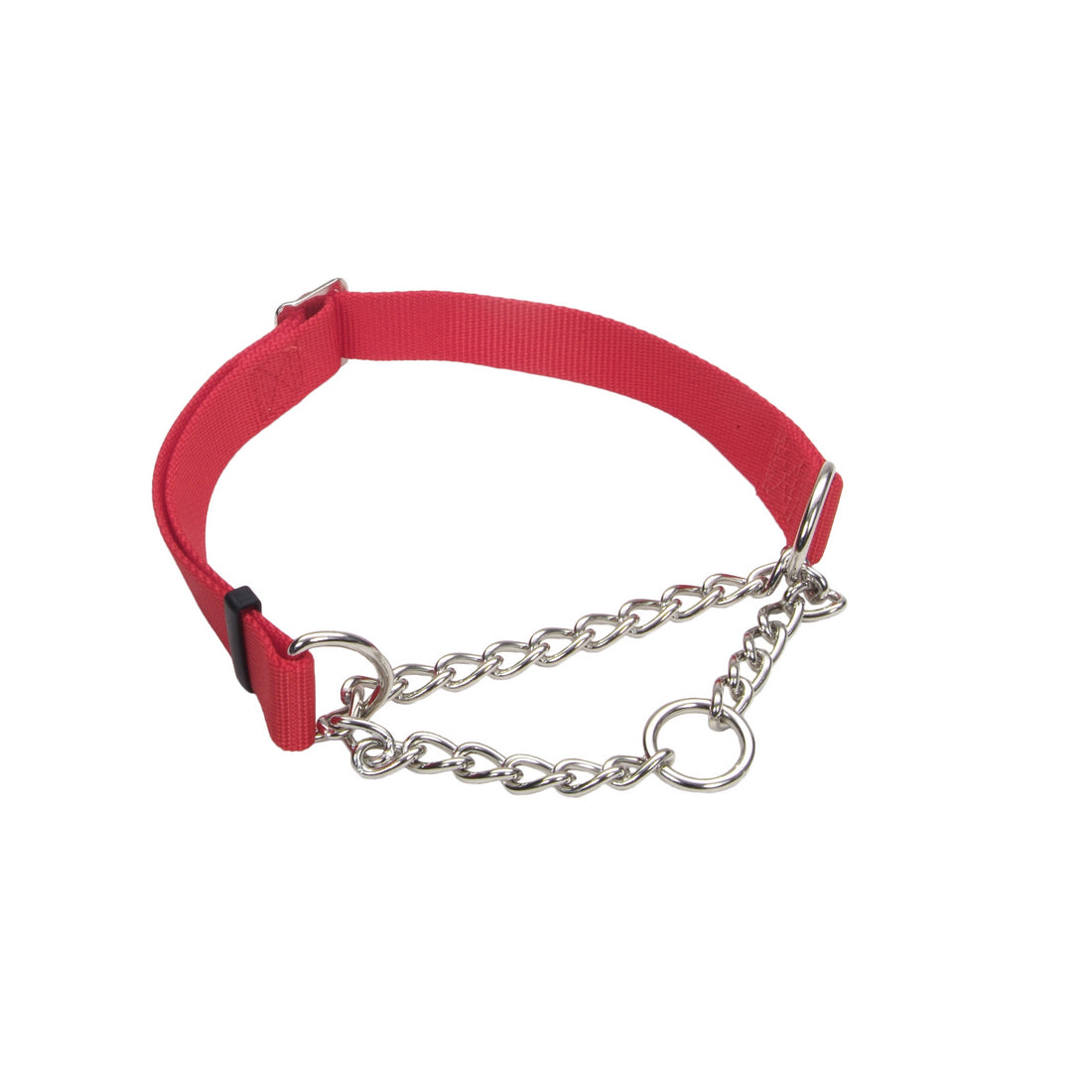 "Coastal Adjustable Check Choke Training Collar 3/8"" - 10"" Red"