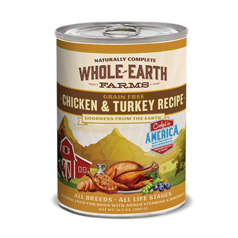 Whole Earth Grain Free Chicken & Turkey