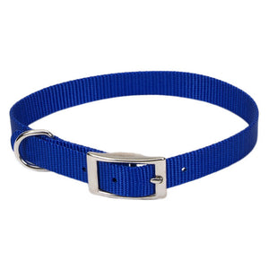 "Coastal Nylon Collar 16"" - 5/8"" Blue"