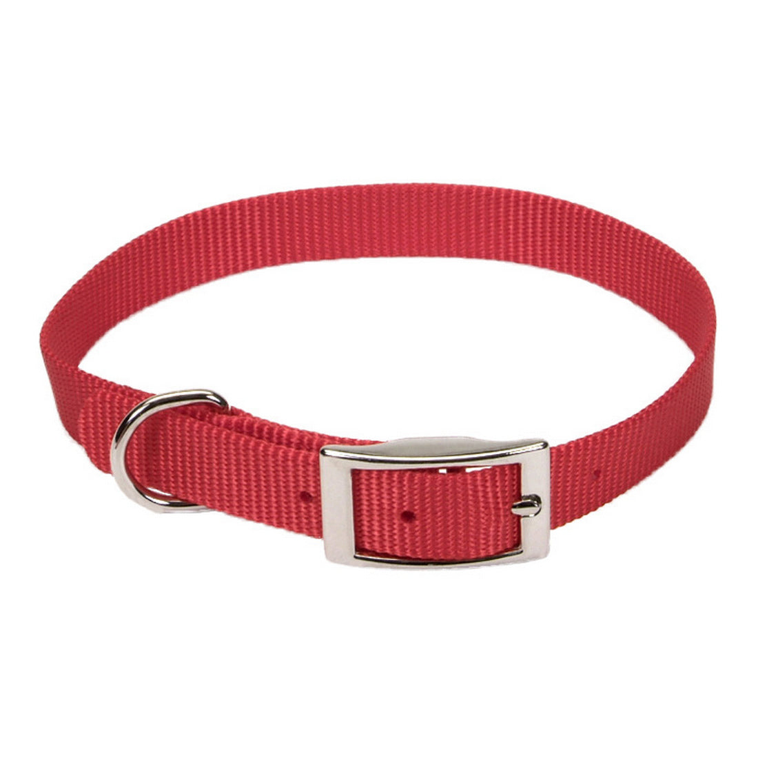 "Coastal Nylon Collar 12"" - 5/8"" Red"