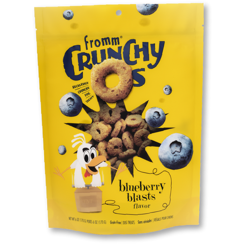 Fromm Treats Crunchy Os Blueberry Blasts