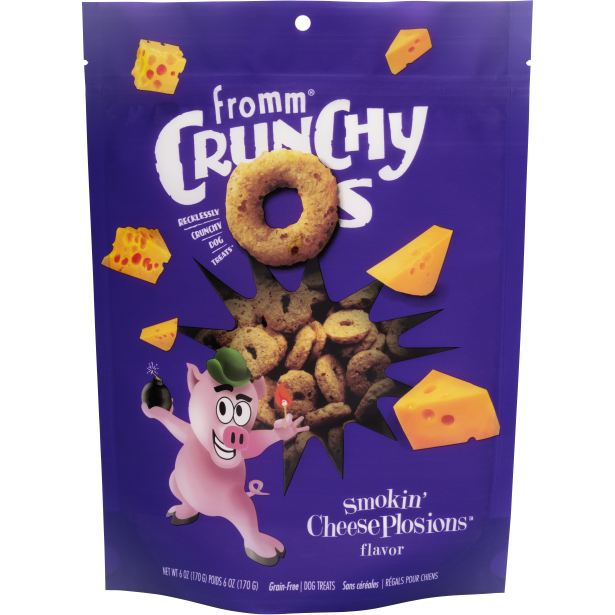Fromm Treats Crunchy Os Smokin' CheesePlosions